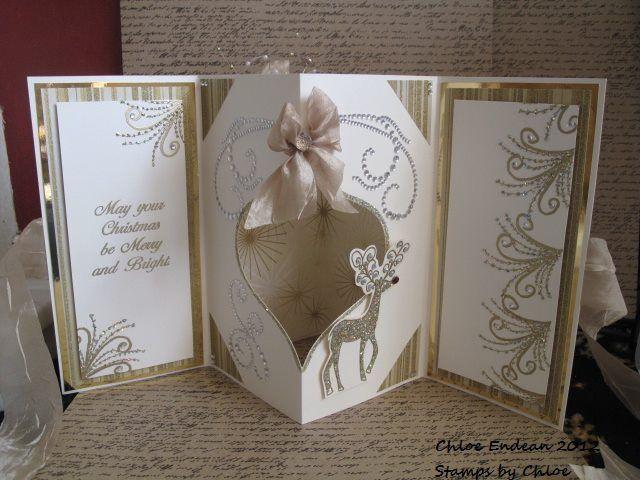 Stamps by Chloe Flourish, Reindeer Merry and Bright