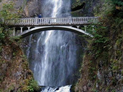 Multnomah Falls Hike - a must see for visitors, can be one stop as you explore the Columbia River Gorge, a National Scenic Area. No need to hike the giant falls, there are amazing views without getting a workout.