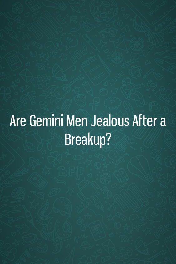 Are Gemini Men Jealous After a Breakup? | Astrology | Aquarius men