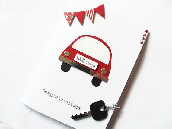 Passed driving test card congratulations cards well by KaisCards