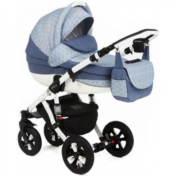 Детская коляска Adamex 2в1 Avila 263W  Цена: 280 USD  Артикул: TW5393  Детская коляска Adamex 2в1 Avila – новинка 2015 года. Легкая алюминиевая рама с двойным амортизатором, накачиваемые колеса, два из которых поворотные, обеспечивают комфорт передвижения по любому покрытию. Благодаря применению адаптера типа click-clack можно легко и быстро менять модули. Модель отличается современным и элегантным дизайном. Люльку и прогулочный блок можно установить лицом или спиной по направлению движения…