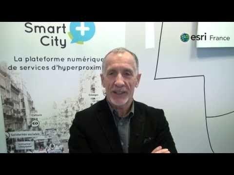 Interview de Michel Bernard, coordinateur du projet Smart City+ pour Esri France. L'enjeu pour lui est de structurer sur une carte toutes les données de proximité receuillies, afin de faire de Grand Paris Seine Ouest un terrain de jeu collaboratif!  http://www.esrifrance.fr/ http://www.smartcityplus.com/