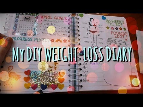 My DIY Weight-Loss Diary... more great ideas for a weight loss journal.                                                                                                                                                     More