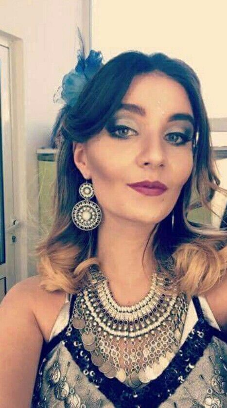 Let's dance!  #makeup #beautiful #beauty #smokey #eye #lips #Aura #lipstick #Sephora #cosmetics #ideas #look #inspiration #black #silver #sparkling #макияж #мейкап #вдохновение #идеи #красота