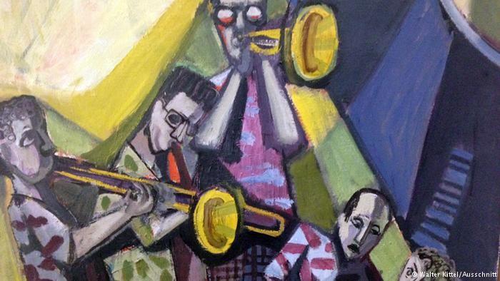 Отто Дикс. Джаз-банд (1954)