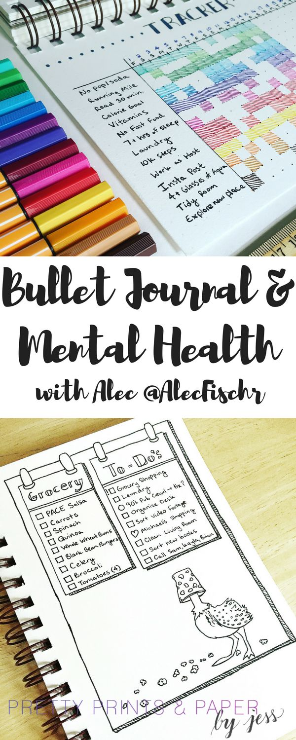 The bullet journal allows for flexibility and creativity – which sometimes helps us in more ways than we realize. See how @alecfischr uses his bullet journal and how it's helped his men…