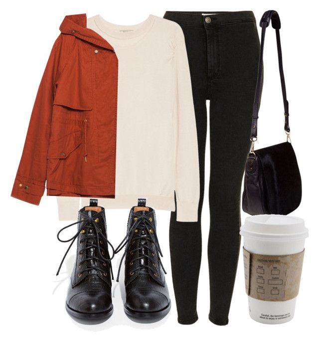 """""""Untitled #4362"""" by laurenmboot ❤ liked on Polyvore featuring Topshop, Nina Ricci, Jeffrey Campbell, Zara and Nomadic"""