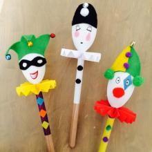 Fabriquer des marionnettes avec les enfants