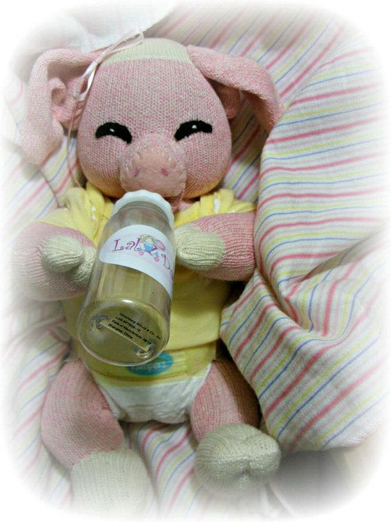 PDF Pattern with supplies  Baby Sock Pig by LaliDolls on Etsy, $33.00 Sock Monkey Friend