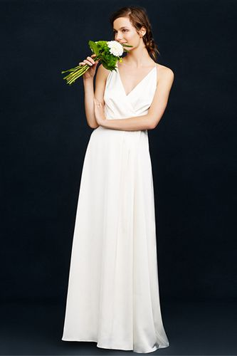J.Crew Spring Wedding Lookbook Goes After The Minimalist Bride. Oh J.Crew you do such beautiful, elegant dresses.