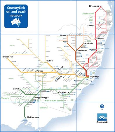 Oh ♥ Trains & Maps mixed together! Train Network Map ...