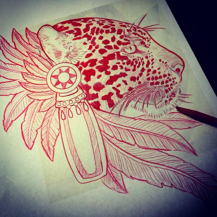 Aztec jaguar drawing                                                                                                                                                                                 More