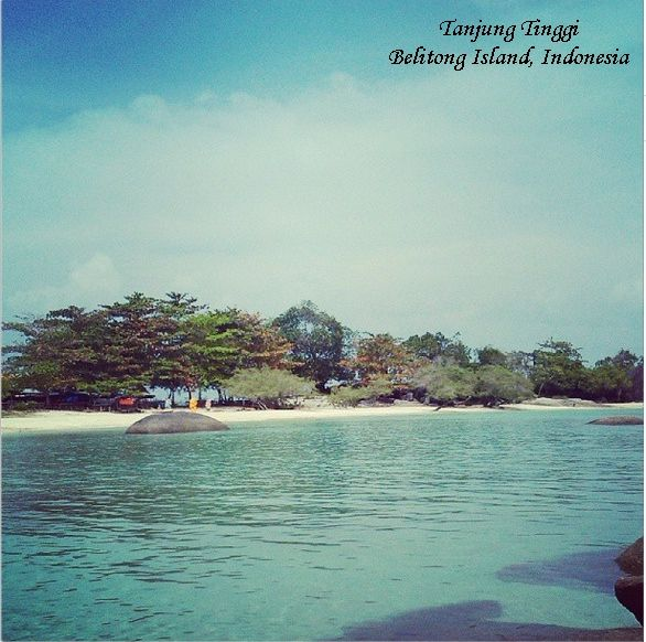 Tanjung Tinggi, Belitung Island, Indonesia