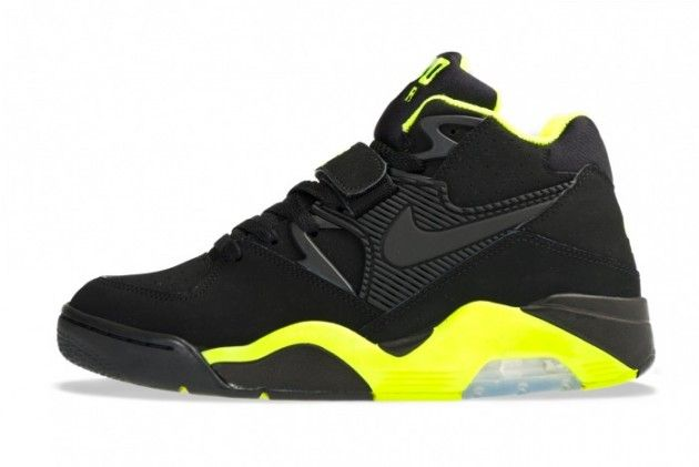 Nike Air Force 180 Black Volt Sneakers - Highsnobiety
