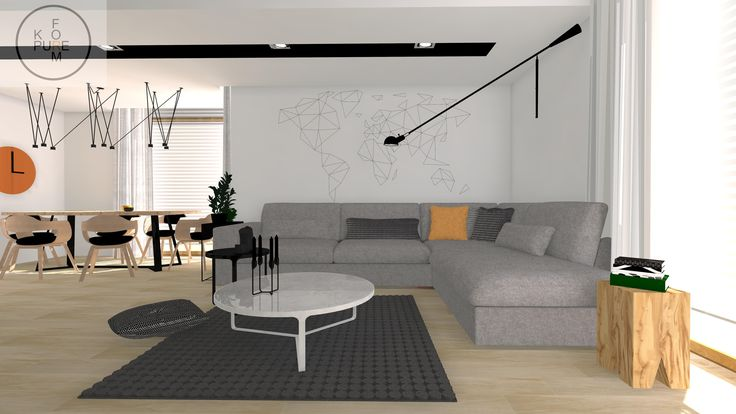 Modern livingroom http://www.kppureform.pl/
