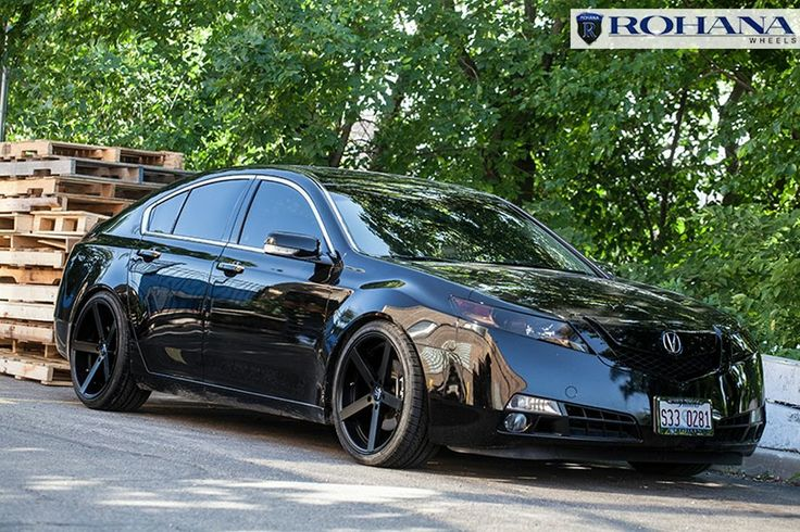 """2007 Acura Tsx Custom >> 20"""" rohana rc22 matte black concave wheels rims fits acura tl 