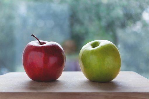 Jabłka, Kolor, Pyszne, Dieta