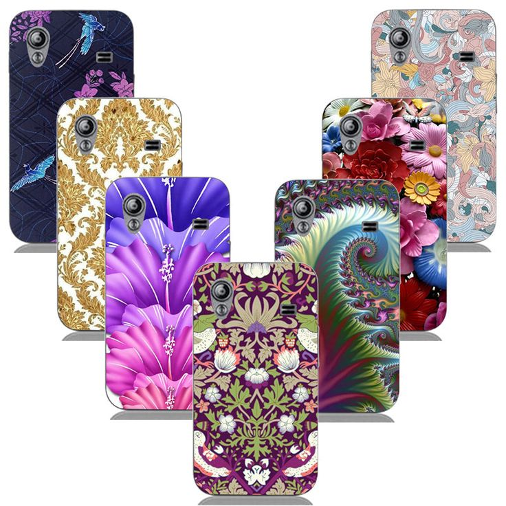 For Samsung Galaxy Ace S5830i GT S5830 GT-S5830i Luxury Printing Case Hard Plastic Back Cover Patten Skin Shell Colored Coque