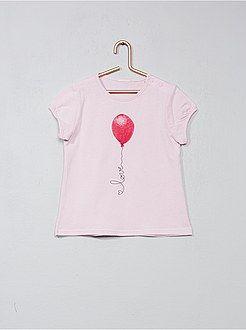 Niña 0-36 meses - Camiseta con estampado de fantasía - Kiabi  35ac4dbe99c