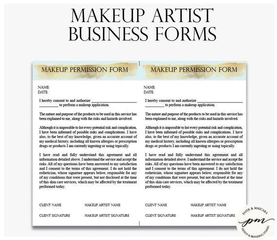 Makeup Artist Business Planner Bundle Freelance Makeup Artist Etsy Makeup Artist Business Freelance Makeup Freelance Makeup Artist
