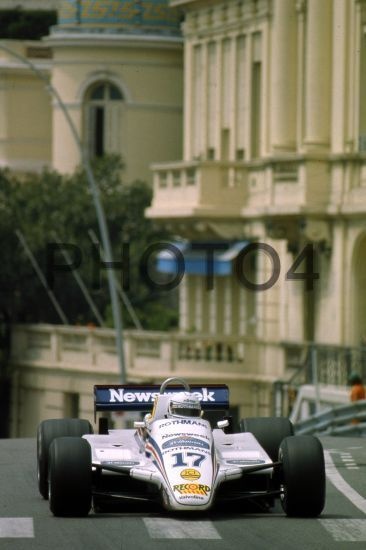 Jochen Mass (GER) March 821 Ford Cosworth