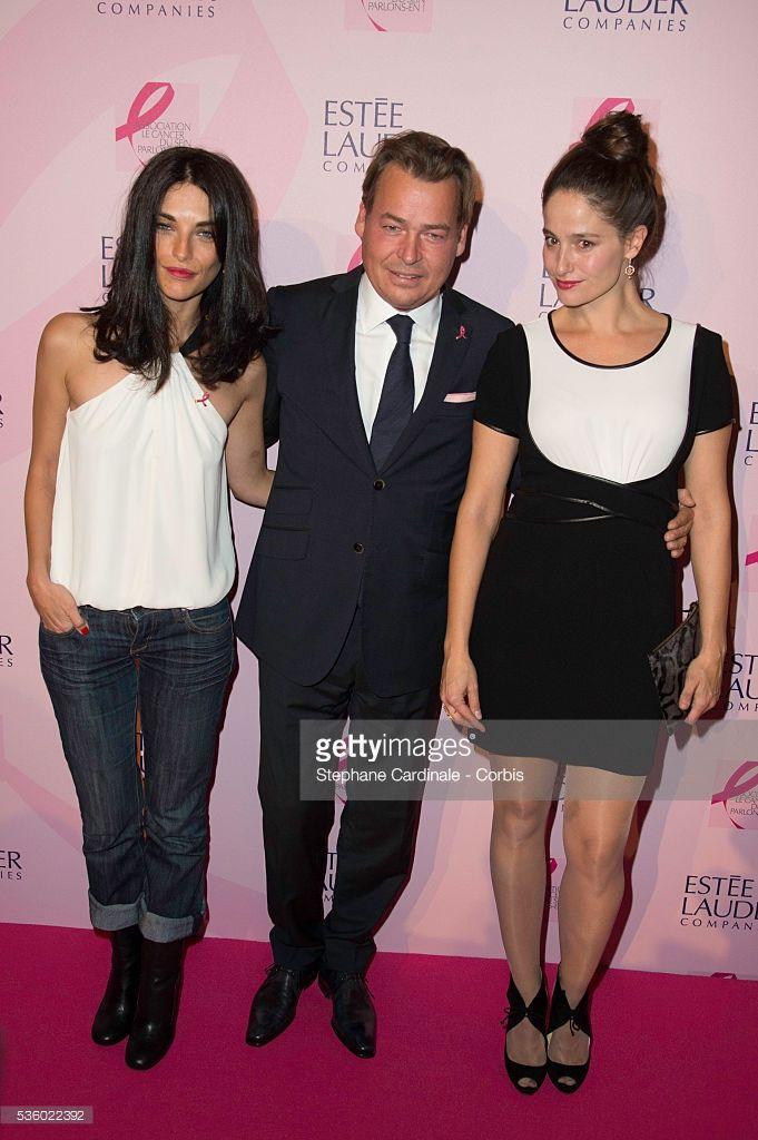 Photo d'actualité : Pauline Delpech, Henk Van Der Mark and Marie...
