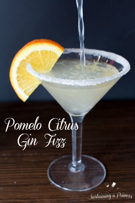 ... of a Pomelo before, but I so want to try this Pomelo Citrus Gin Fizz