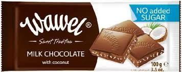 Wawel kókuszos, édesítőszeres csokoládé, Pennyben találtam eddig ezt a fajtát. Több ízben is van nekünk való.