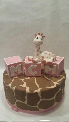 Sophie the giraffe first birthday