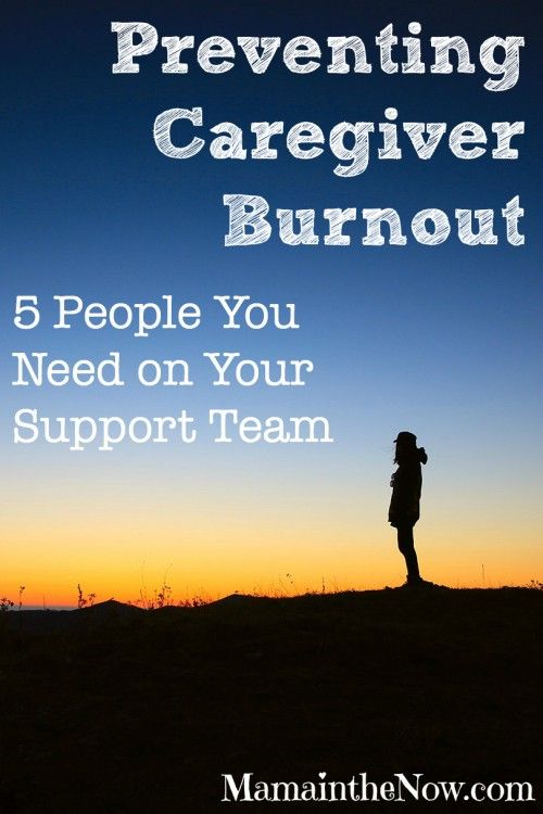 Preventing Caregiver Burnout. 5 People You Need on Your Support Team.  Which one of the five roles would you assume someone's support team?  Article written by Children's Hospital & Medical Center Omaha's team: small beats. A supportive website for heart families.