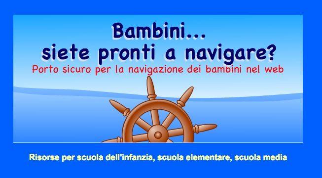 Portale per bambini Siete pronti a navigare?