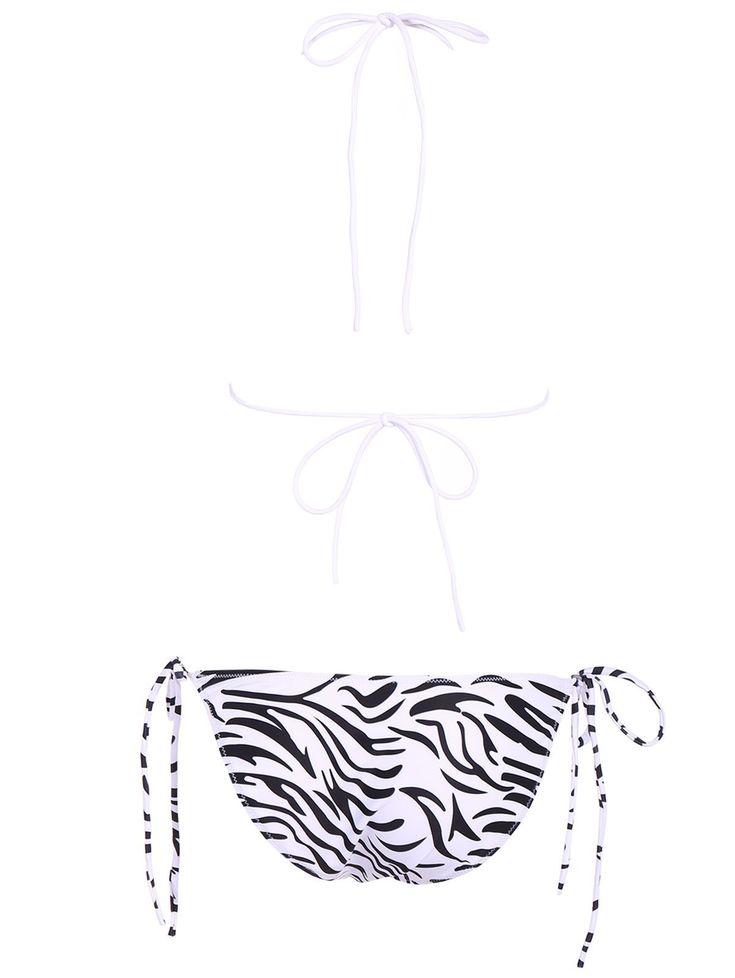 Bikini print zebra