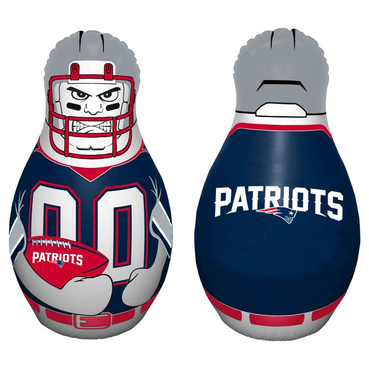 NFL New England Patriots Tackle Buddy Inflatable Punching Bag,