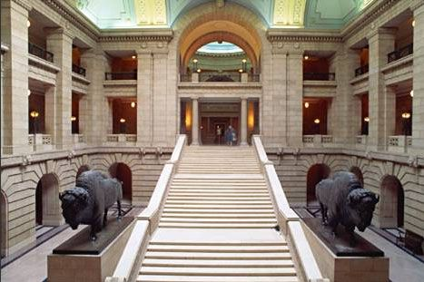 Manitoba Legislative Building Grand Entrance