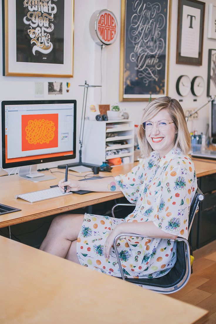 Letterer and Type Designer Jessica Hische #theeverygirl