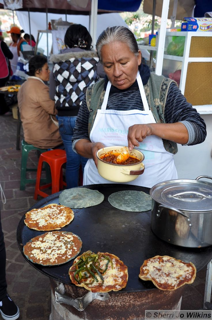 Mexican street food vendor. - I want this right now