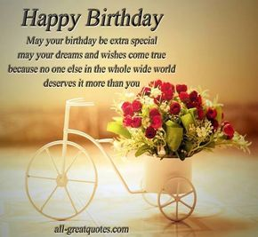 Happy Birthday Postcards for Facebook | Happy Birthday Wishes - Greetings Cards | via Facebook | We Heart It
