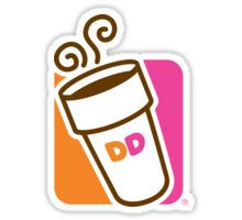 Dunkin Donuts Logo  Sticker