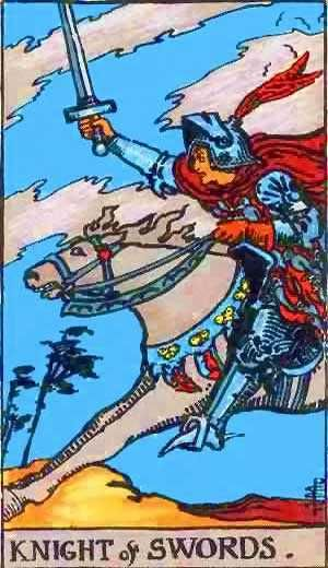 knight of cups tarot love relationship