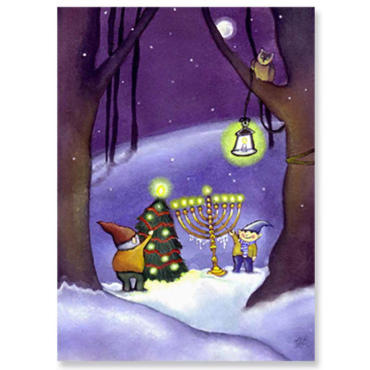 125 Best Interfaith Greeting Cards: Chrismukkah And