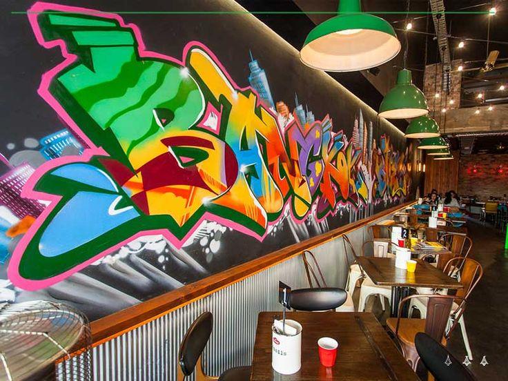 graffiti mural sydney