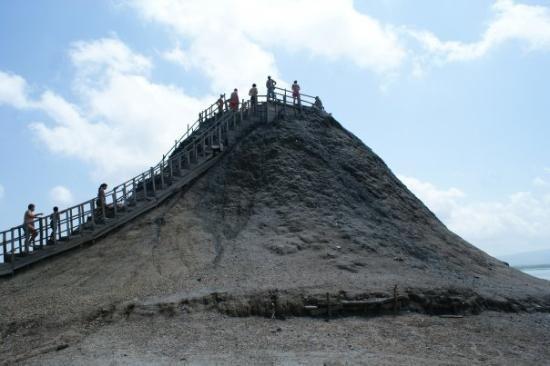 Volcan de Lodo El Totumo (Mud Volcano) - Cartagena - More info here - http://intelligenttravel.nationalgeographic.com/2010/03/08/colombia/
