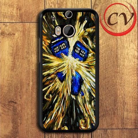 Starry Night HTC One M8 Black Case