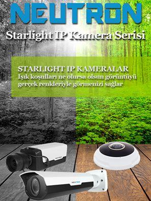 Neutron Starlight IP Kameralar