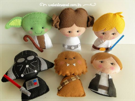 Star Wars PDF Pattern Pocket Version by walartesanal on Etsy
