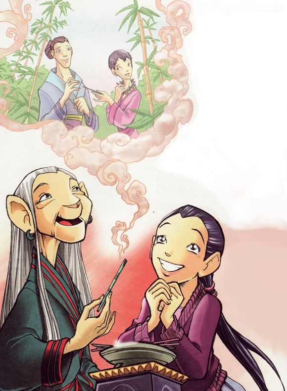 you love it ru witch hay lin and grandmother