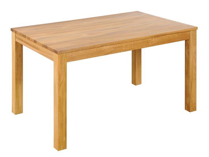 Table à manger KAYNE 120x80 en chêne huilé miel pour salle à manger | Massivum