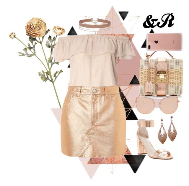 """""""Shades Of Rose Gold"""" by devarahma on Polyvore featuring Dorothy Perkins, Topshop, Breckelle's, Miss Selfridge, Mark Cross, Belkin, rosegold, shadesofrosegold and shadesofcolor"""