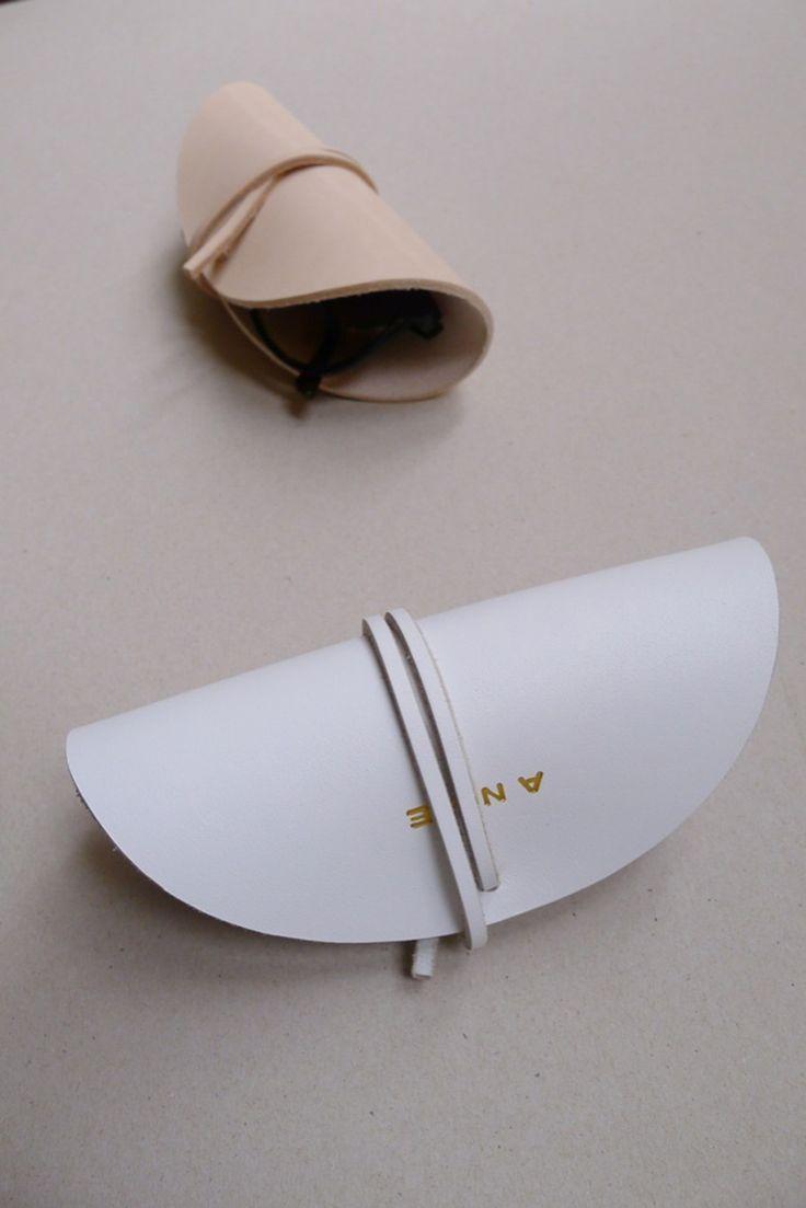 From IAMTHELAB.com Handmade Profiles: Handmade Leather Goods / Kerstin Greve for ANVE