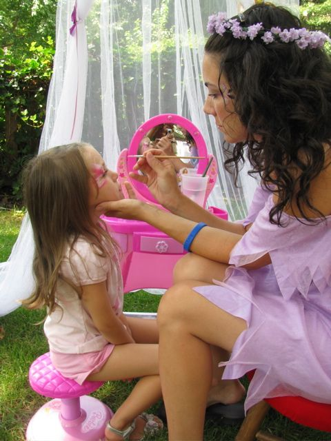 Fairy Garden Tea Party—Face Painting Tips Shop